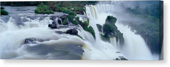 Iguazu Falls Canvas Print - Iguazu Falls, Iguazu National Park by Panoramic Images