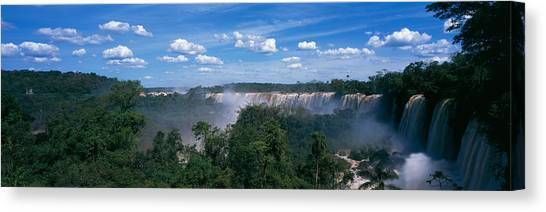 Iguazu Falls Canvas Print - Iguazu Falls National Park Argentina by Panoramic Images