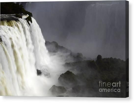 Iguazu Falls Canvas Print - Iguazu Falls South America 11 by Bob Christopher