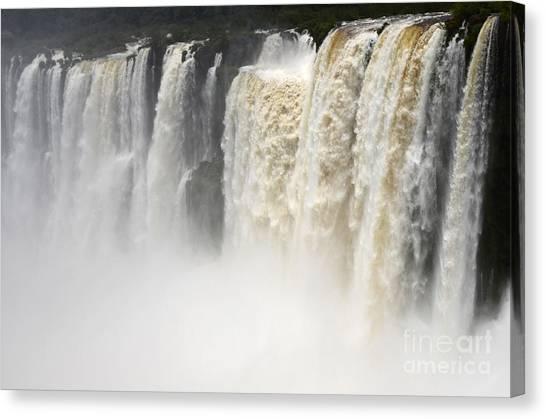 Iguazu Falls Canvas Print - Iguazu Falls South America 2 by Bob Christopher