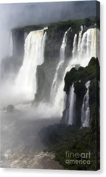 Iguazu Falls Canvas Print - Iguazu Falls South America 4 by Bob Christopher