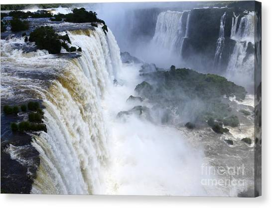 Iguazu Falls Canvas Print - Iguazu Falls South America 5 by Bob Christopher
