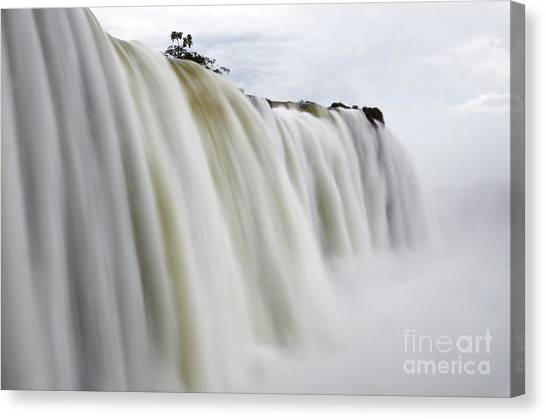 Iguazu Falls Canvas Print - Iguazu Falls South America 7 by Bob Christopher