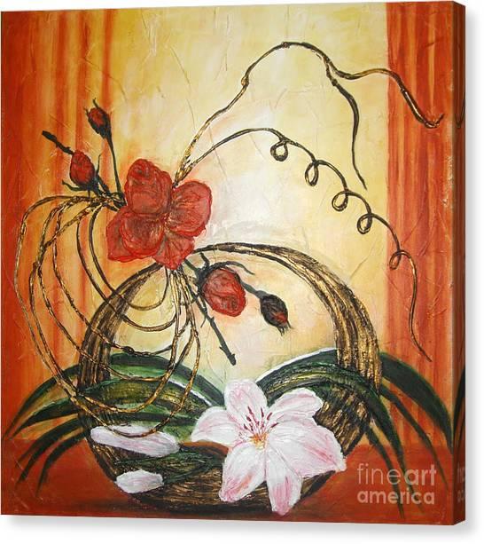 Ikebana IIi Canvas Print