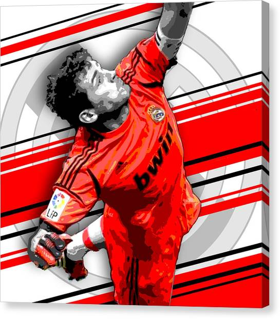 Xabi Alonso Canvas Print - Iker Casillas Real Madrid Print by Pro Prints