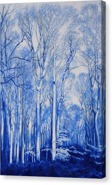 Illuminated Arboretum Canvas Print
