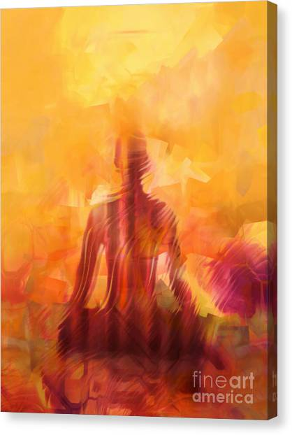 Yogi Canvas Print - Illuminated by Lutz Baar