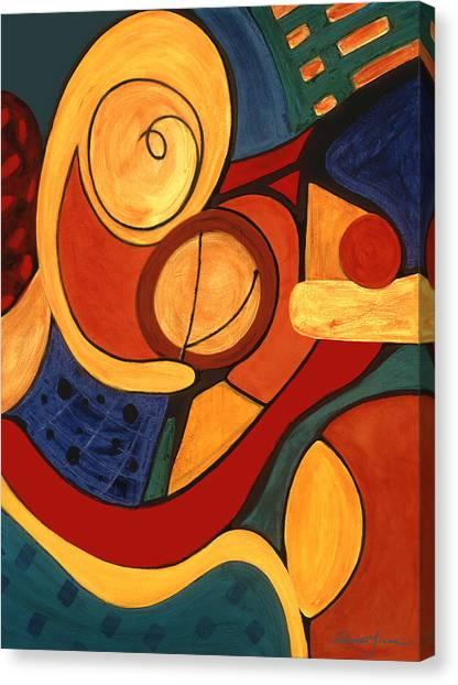 Illuminatus 3 Canvas Print