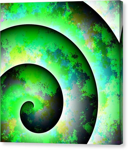 Illusion Canvas Print by Cameron Rose