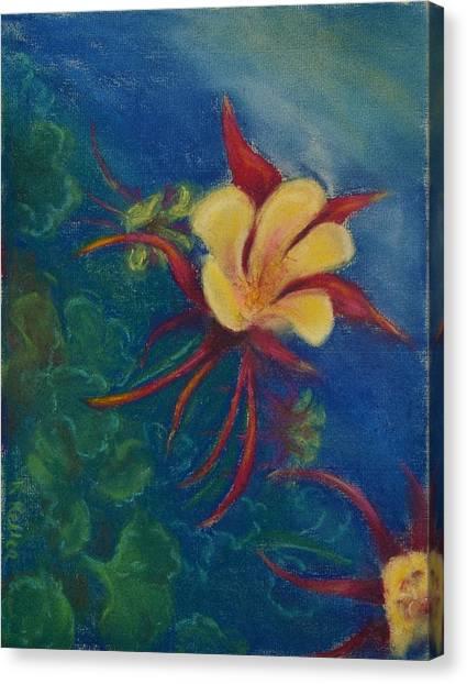 Illusion Canvas Print by Kathleen Keller