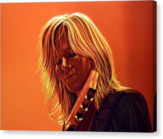 The Netherlands Canvas Print - Ilse Delange Painting by Paul Meijering