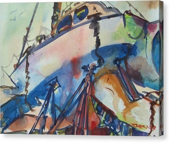 Ilwaco Loose Canvas Print