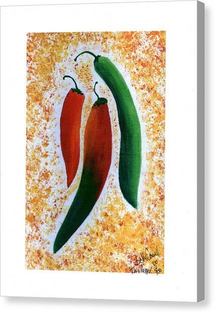 I'm A Pepper Canvas Print