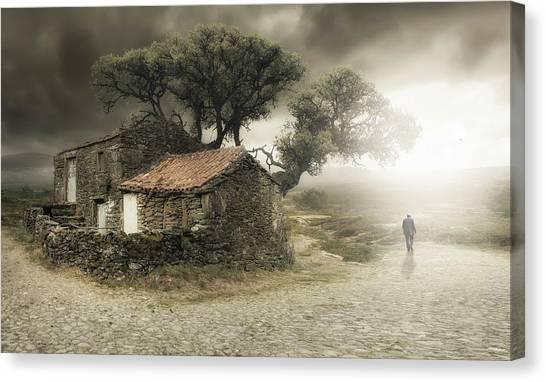 Old Man Canvas Print - I'm Leaving by Nuno Araujo