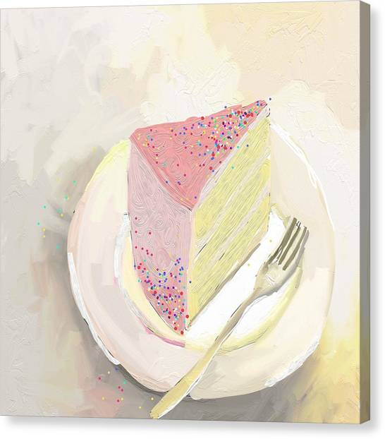Bakeries Canvas Print - I'm Out Of Cake by Cathy Walters