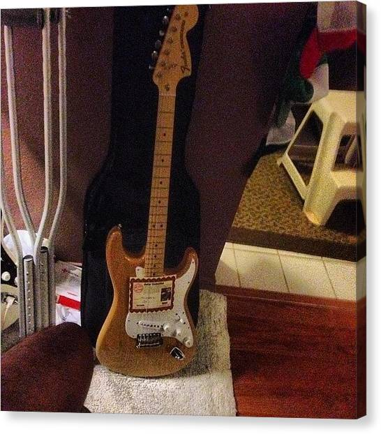 Stratocasters Canvas Print - I'm So Blown Away! Thank You To My by Rj Kaneao