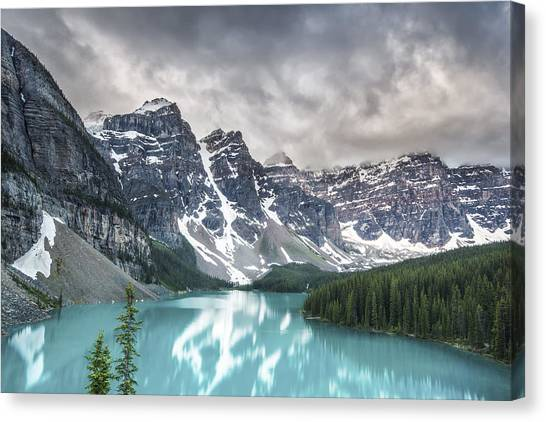 Mountain Ranges Canvas Print - Imaginary Waters by Jon Glaser