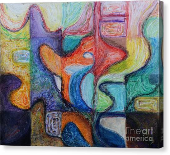 Canvas Print - Imagination by Color  Splash