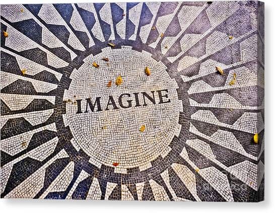 Imagine Canvas Print by Stacey Granger