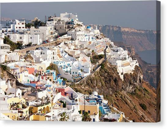 Imerovigli In Santorini, Greece Canvas Print