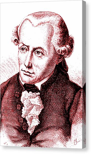 Uranus Canvas Print - Immanuel Kant by Collection Abecasis