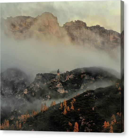 Dolomites Canvas Print - Immovable by Stan Huang