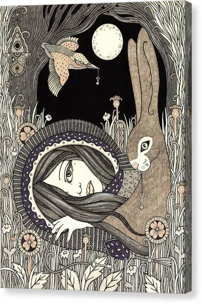 Imogen Canvas Print by Anita Inverarity