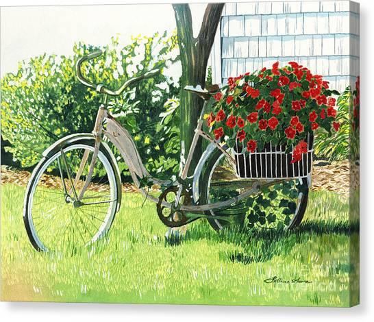 Impatiens To Ride Canvas Print