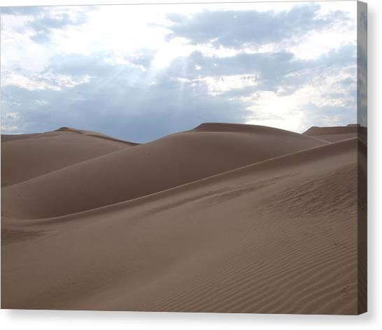 Imperial Sand Dunes Southern California Canvas Print