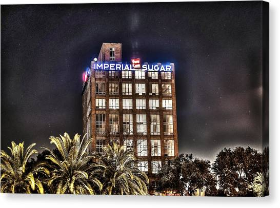 Imperial Sugar Mill Canvas Print