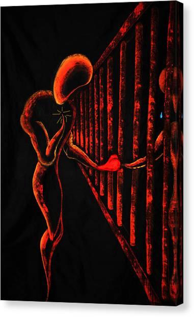 Imprisoned Love Canvas Print