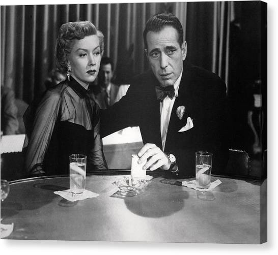 Gloria Canvas Print - In A Lonely Place  by Silver Screen