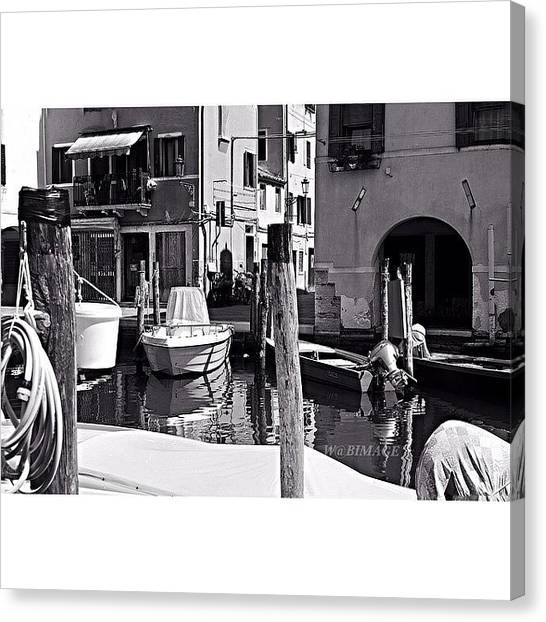 Smallmouth Bass Canvas Print - In A Summer Day by Walter Bisoffi