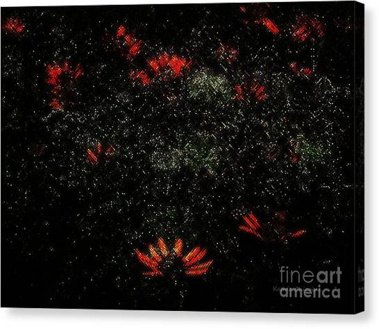 In A Twinkling Canvas Print