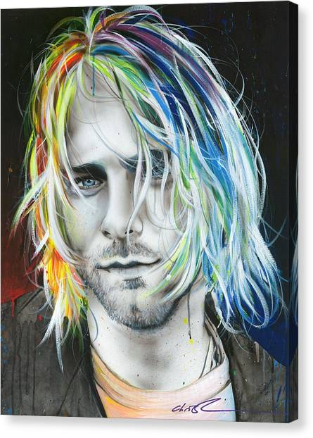 Nirvana Canvas Print - In Debt For My Thirst by Christian Chapman Art