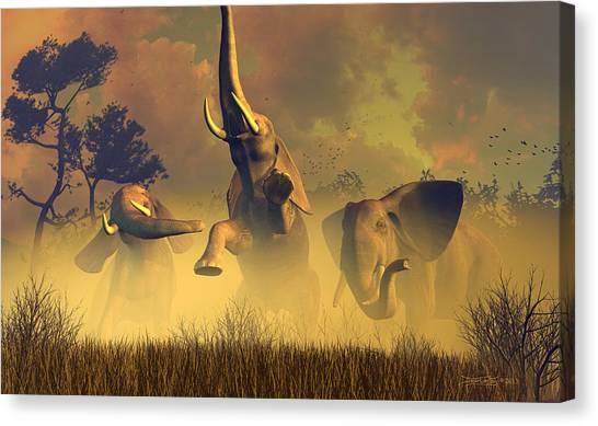 In Defense Of The Realm Canvas Print