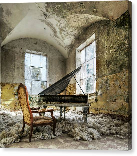 Indoors Canvas Print - [in Heaven] by Mario Benz