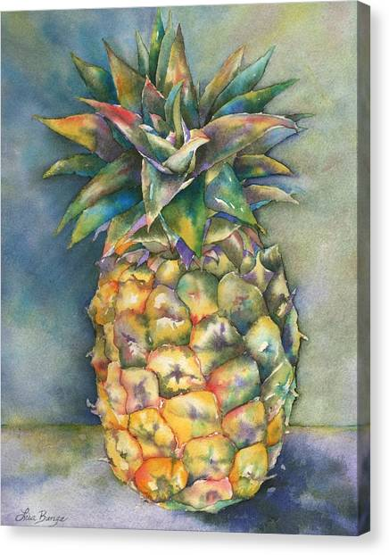 Pineapples Canvas Print - In Living Color by Lisa Bunge