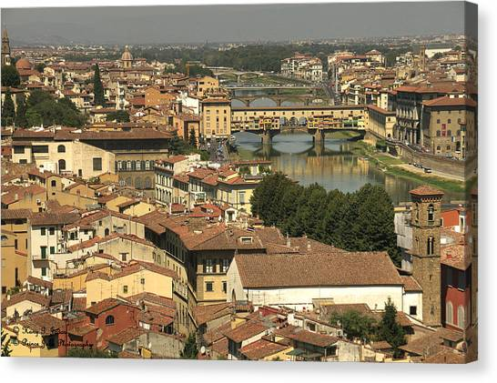 In Love With Firenze - 1 Canvas Print