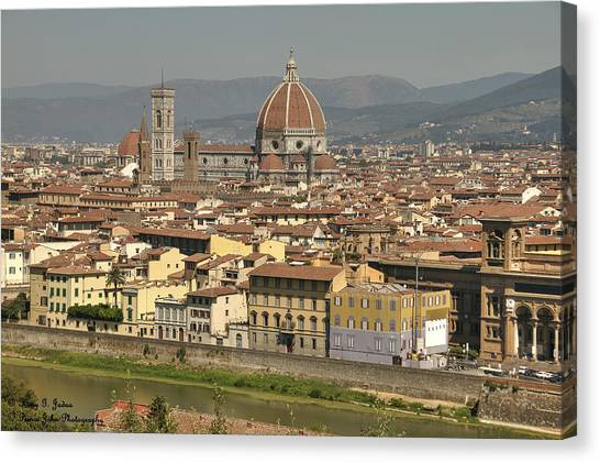 In Love With Firenze - 2 Canvas Print