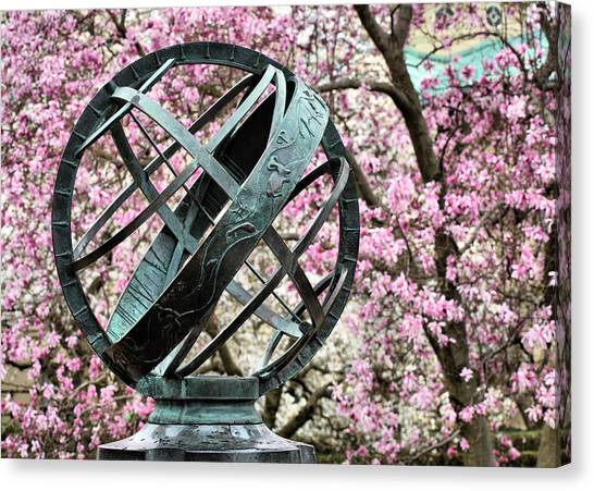 In Magnolia Plaza Canvas Print by JC Findley