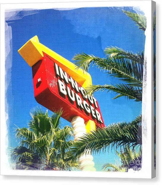 In-n-out Burger Canvas Print