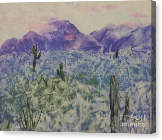 In Quietness And Trust Canvas Print
