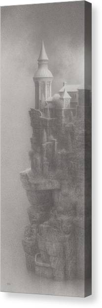 In Silence Canvas Print by Mark  Reep