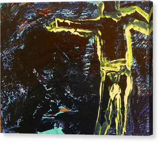 In The Dark Corn Canvas Print