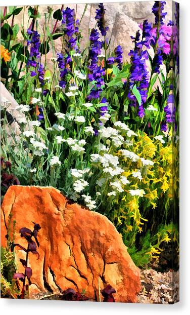 In The Garden Canvas Print by Brian Davis