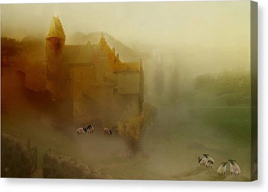 In The Kings Pasture Canvas Print