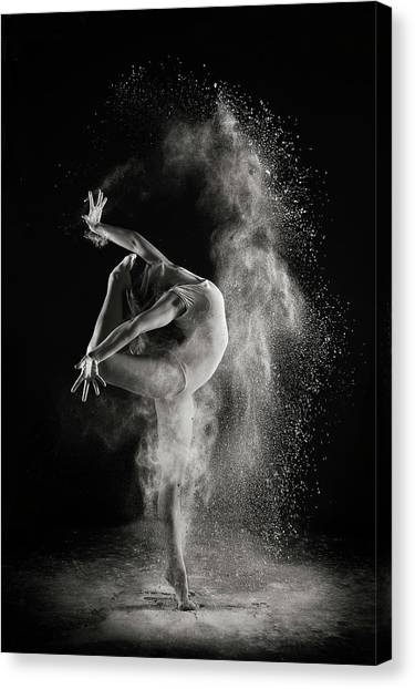 Acrobatic Canvas Print - In The Light by Shades And Light