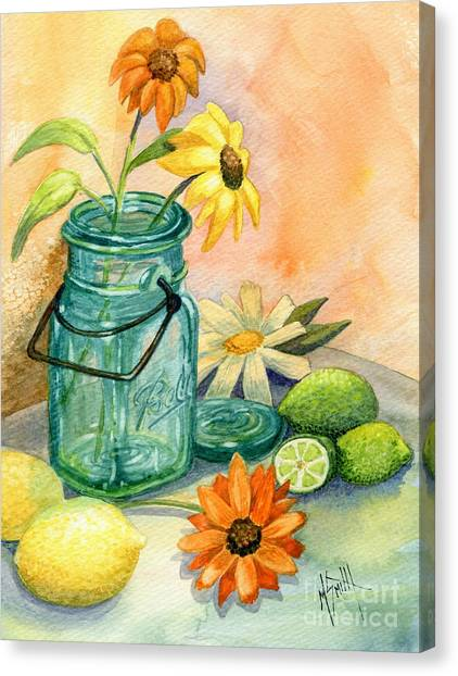 In The Lime Light Canvas Print