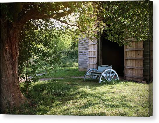 In The Shade Canvas Print by Stephen Norris